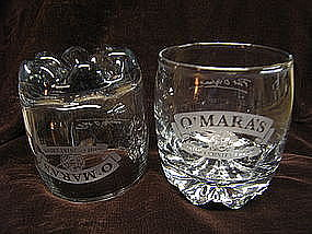 O'Mara's Irish Cream Glass