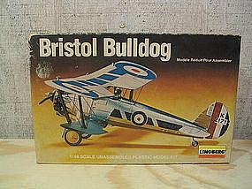 Lindberg Bristol Bulldog Model