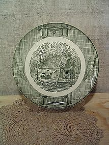Scio Currier & Ives Dinner Plate