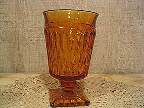 Indiana Glass Mt. Vernon Goblet