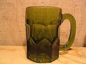 Green Glass Stein