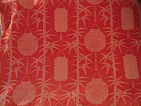 Chinese Lantern Bedspread
