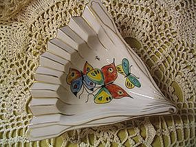 Butterfly Fan Ashtray