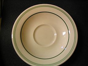 Homer Laughlin Restaurant Saucer