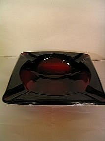 Anchor Hocking Royal Ruby Ashtray