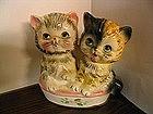 Vintage Kitten Planter