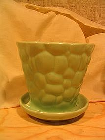 Brush Pottery Planter