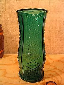 E.O. Brody Teal Vase