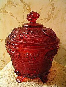 Ruby Grape Bowl