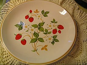 Sheffield Strawberries 'N Cream Plate
