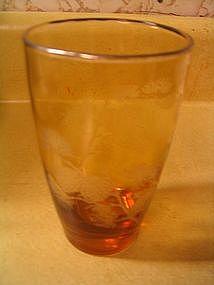 Libbey Golden Pine Glass