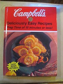 Campbell's Deliciously Easy Recipes