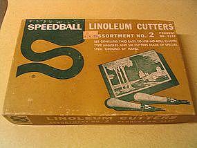Vintage Speedball Linoleum Cutters