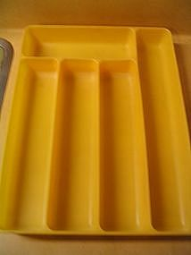 Lustro-Ware Silverware Tray