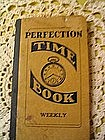 Perfection Time Book