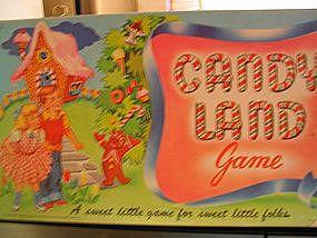 Vintage Candyland Game
