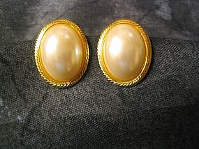 Napier Pearl Earrings