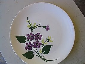 Blue Ridge French Violets Plate