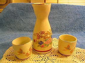 Porcelain Japanese Sake Set