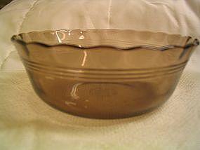 Amber Pyrex 39 Bowl