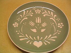 Harker Provincial Tulip Plate