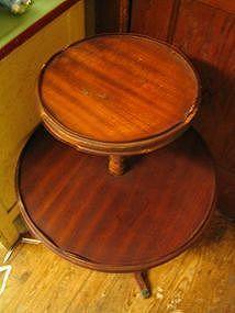 Vintage Two Tier Table  UNAVAILABLE