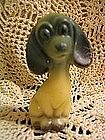 Vintage Plastic Dog Figure