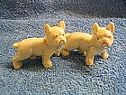 Vintage Lusterware Bulldogs