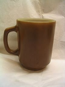 Anchor Hocking Brown Mug