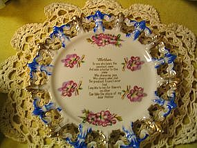 Vintage Mother's Plate