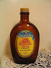 Log Cabin American Indian Bottle