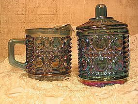 Federal Windsor Carnival Sugar and Creamer