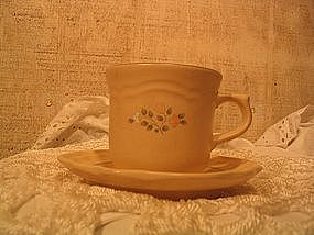Pfaltzgraff Remembrance Cup & Saucer