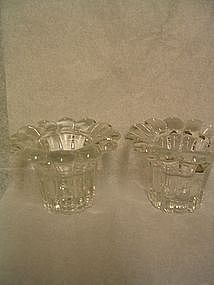 Italian Crystal Candle Holder