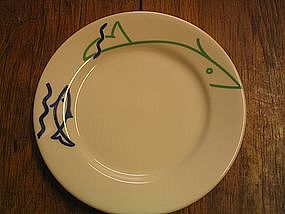 Buffalo China Fish Plate