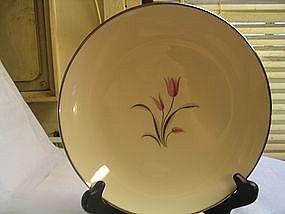 Franciscan Carmel Plate