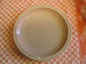 Sterling Restaurant  Pink Bands Plate