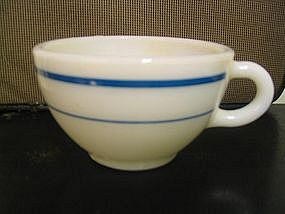Pyrex Turquoise Band Cup