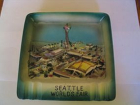 Seattle World's Fair Ashtray