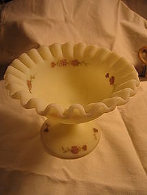 Fenton Satin Custard Nut dish