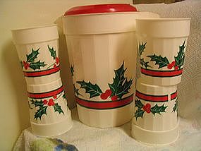 Packerware Christmas Pitcher & Cups
