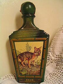 Jim Beam Fox Bottle