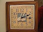 Blue Goose Clock