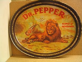Dr. Pepper Tray