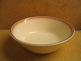 Royal Doulton Dusty Rose Line Bowl
