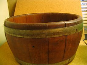 Staved Wood Planter