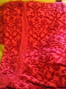 Vintage Pink Bedspread