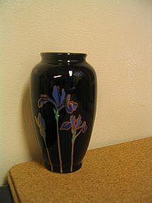 Otagiri Blue Iris Vase