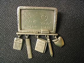 JJ Teacher's Pin