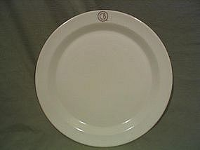 Chicago Burlington & Quincy Plate SALES UNAVAILABLE